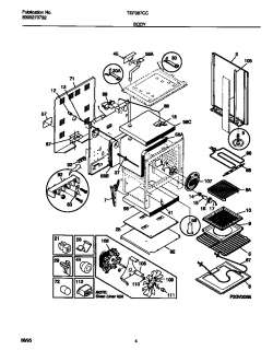 TAPPAN Tappan electric range 5995270732 Wiring diagram Parts ... on