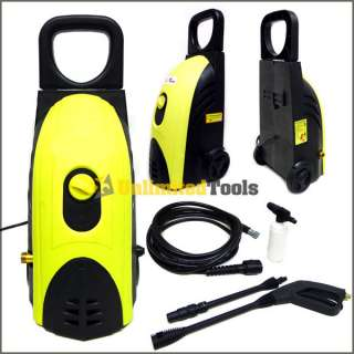 1300 2300PSI High Pressure Washer W/ 31 Extendable Handle Cleaner