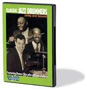 Classic Jazz Drummers Gene Krupa Buddy Rich Drum DVD