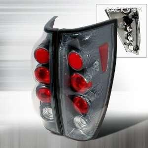02 05 CHEVY AVALANCHE CARBON FIBER TAIL LIGHTS Automotive