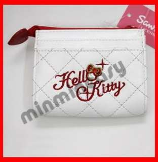 Hello Kitty Wallet Coins Bag Purse with Card Slots A