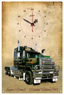 MACK TRUCK BICENTENNIAL SUPER LINER 11VINTAGE CLOCK