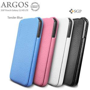 Samsung Galaxy S2 AT&T I727 LTE SGP ARGOS Leather Flip Cover Case