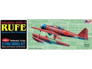 Nakajima A6M2 N RUFE 1/32 Scale Flying Model Airplane Kit NIB