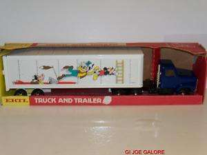 ERTL(WALT DISNEY)SEMI TRUCK & TRAILOR)MIB) HARD TO FIND
