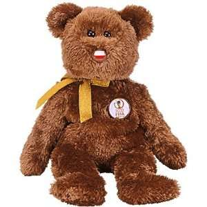 TY Beanie Baby   CHAMPION the FIFA Bear ( Poland ) Toys & Games