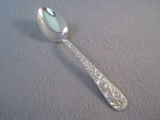 Teaspoon (s) Kirk & Son REPOUSSE Sterling Silver ~