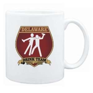 Delaware Drink Team Sign   Drunks Shield  Mug State