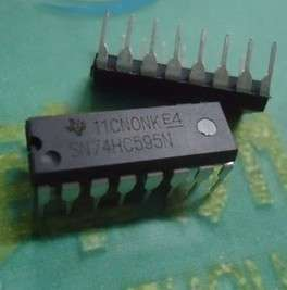 10pcs SN74HC595N 74HC595 8 Bit Shift Register DIP 16