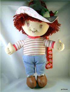 Strawberry Shortcake Doll Backpack 15 Cloth Doll