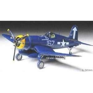 Tamiya 1/72 Vought F4U1D Corsair Aircraft Kit Toys & Games