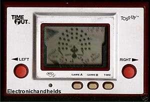 1980 NINTENDO GAME & WATCH TOSS UP BALL MEGO TIMEOUT