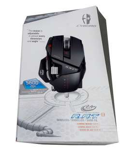 NEW Cyborg R.A.T. 9 Laser Mad Catz Gaming Mouse for PC RAT 9