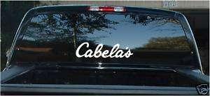 CABELAS fishing car decal reel bass boat hunting rod