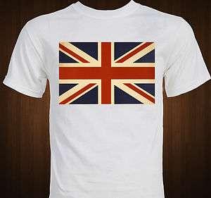 British Flag Union Jack T shirt