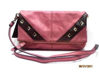 CORSO COMO Crossbody Clutch Pink Leather MARANA $198