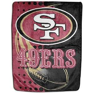 Royal Plush Raschel Blanket/Throw   San Francisco 49ers