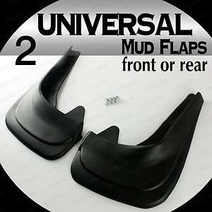 Universal Mud Flap Plastic Splash Guards Full Set Package Truck Car