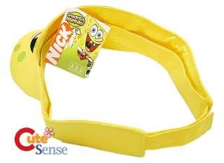 Nick Jr.SpongeBob Adjustable Sun Cap Hat (One Size)