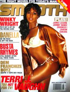 Smooth Magazine 25 Busta Rhymes/Danella/Terri Vaughn/Franchise Boyz