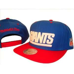 com New York Giants Blue & Red Adjustable Snap Back Baseball Cap Hat
