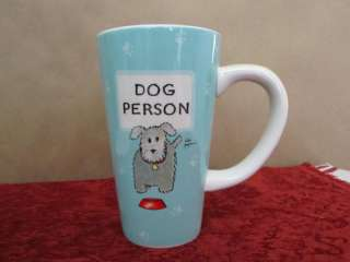 New Linda Grayson Dog Person Tall Coffee Mug