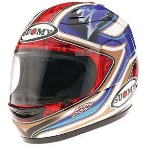 Suomy Spec 1R Bautista Replica Helmet 2008   Medium/Red