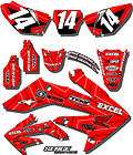 008 2009 2010 2011 CRF 150 230 F GRAPHICS KIT HONDA CRF150F CRF230F