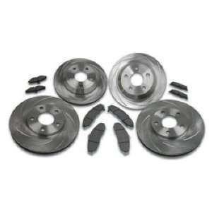 Stainless Steel Brakes A2350005 Turbo Slotted Rotors