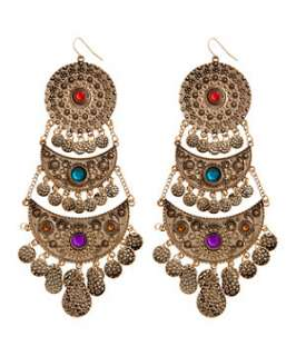 null (Multi Col) Decorative Hanging Pendant Earrings  244059599  New