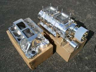 NEW BIG BLOCK FORD 429 460 THE BLOWER SHOP SUPERCHARGER 871 POLISHED