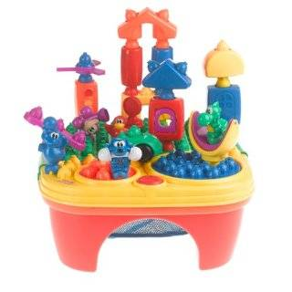 Fisher Price Pop Onz Pop N Twirl Table Building System