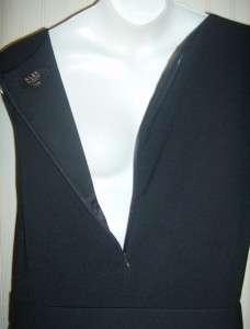 ALEX & MARIE NAVY BLUE (ALMOST BLACK) CLASSY DRESS 22W