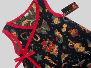Rockabilly Tattoo toddler baby girl dress kids clothes