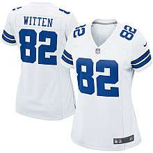Womens Nike Dallas Cowboys Jason Witten Game White Jersey