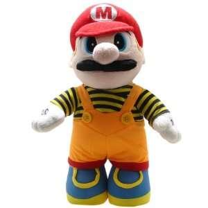 Super Mario Brothers Mario Orange Costume 15 inch Plush