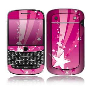 BlackBerry Bold 9900/9930 Decal Skin Sticker   Pink Stars