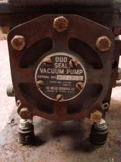 Montgomery Ward Vacuum Pump Power Kraft Capacitor Duo Seal Sleeve