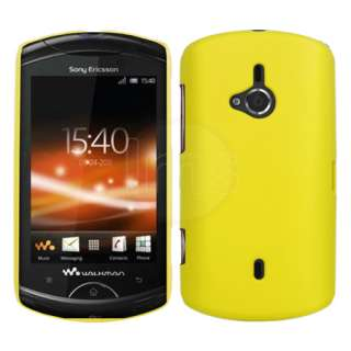 London Magic Store   Yellow Hybrid Hard Case Cover For Sony Ericsson