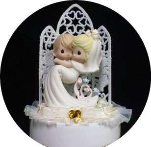 Little Blue bird PRECIOUS MOMENTS figurine Wedding Cake Topper
