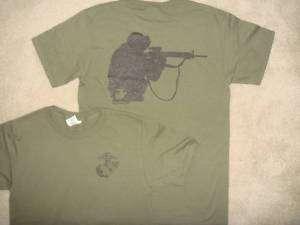 Marine Corps USMC Semper Fi Fallujah IRAQ 1 T Shirt