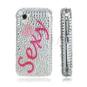 Ecell   PINK SEXY 3D CRYSTAL DIAMOND BLING CASE FOR LG