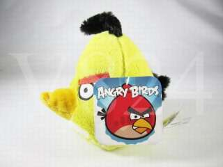 Angry Birds Plush 5 Inches Toy YELLOW