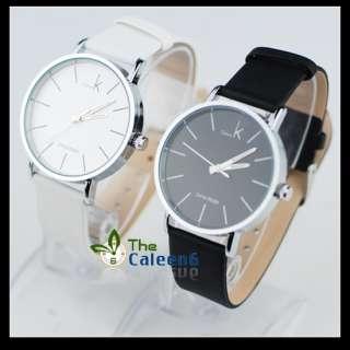 NEW Fashion Best Ladies Mens Quartz Wrist Watch 2 Colors Selectior