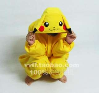 Hollywood Anime Pokemon Pikachu Cosplay Costume Japan Kigurumi Pajamas