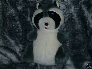 VINTAGE STUFFED SUPERIOR TOY & NOVELTY RACCOON