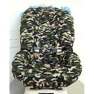 Daddy Camo Toddler Car Seat Cover   Blue Baby