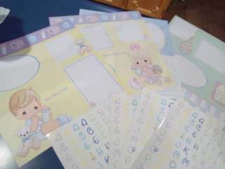 Precious Moments Baby 12 Photo Album Scrapbook Kit Great Baby Shower