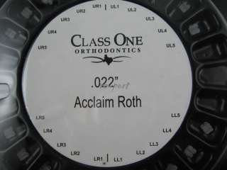 Dental A22 Orthodontics Roth Ceramic Bracket Braces 5 5