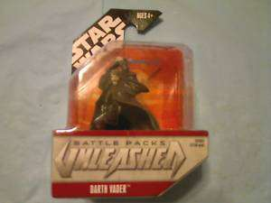STAR WARS BATTLE PACKS UNLEASHED ANIKAN DARTH VADER NEW